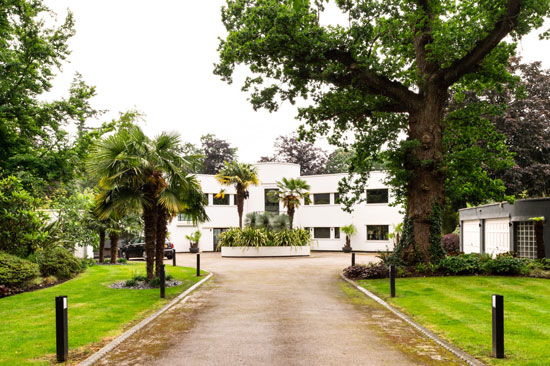 1930s Old San Juan modernist house in Gerrards Cross, Buckinghamshire