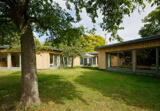David Kirkland-designed single-storey property in Childrey, Oxfordshire