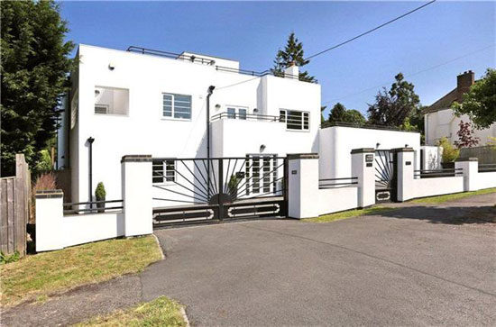 On the market: The White House 1930s art deco property in Oxford, Oxfordshire