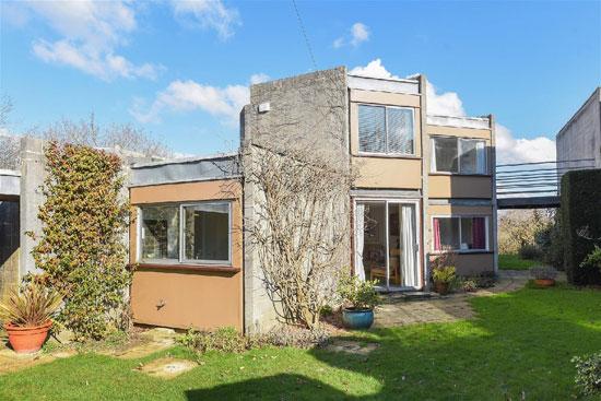 1960s Ahrends, Burton and Koralek modernist property in Old Headington, Oxford