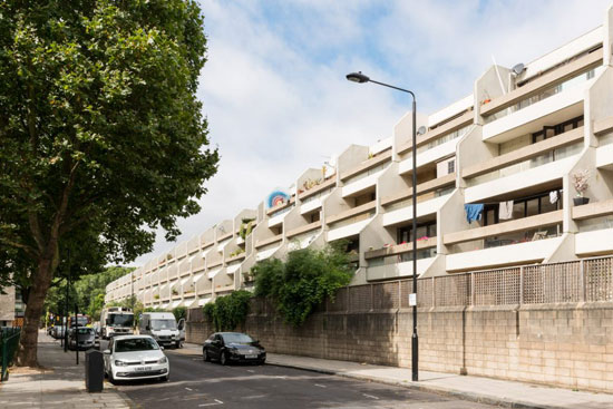 On the market: 1970s Peter Tabori-designed duplex apartment in London N19
