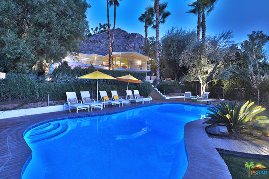 On the market: 1950s midcentury modern property in Palm Springs, California, USA