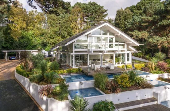 On the market: Four-bedroom modernist Huf Haus in Poole, Dorset