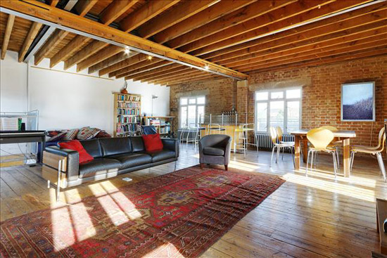 On the market: Five-bedroom Dransfield Owen De Silva-designed warehouse conversion in London SE16