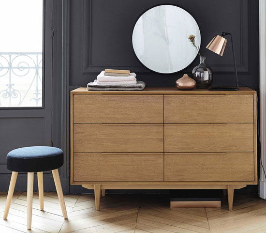 Portobello midcentury modern furniture at Maisons Du Monde