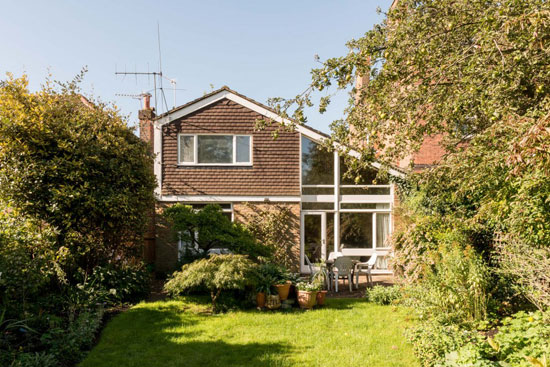 1960s Norman Plastow-designed midcentury modern property in London SW20