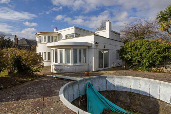 1930s art deco renovation project in Penarth, Cardiff, South Wales