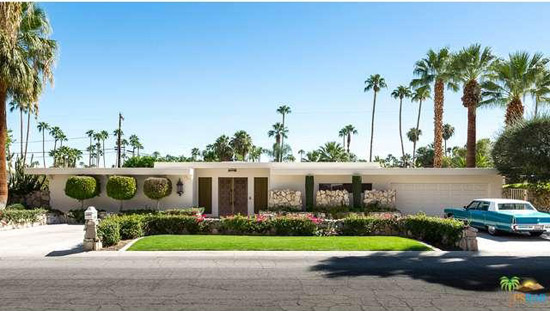 1960s Robert Lewis-designed Stephan's Folly in Palm Springs, California, USA