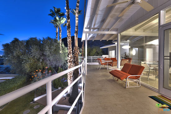 1950s midcentury modern property in Palm Springs, California, USA