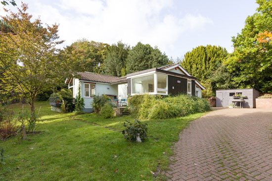 Robert Paine 1960s midcentury modern house in Canterbury, Kent