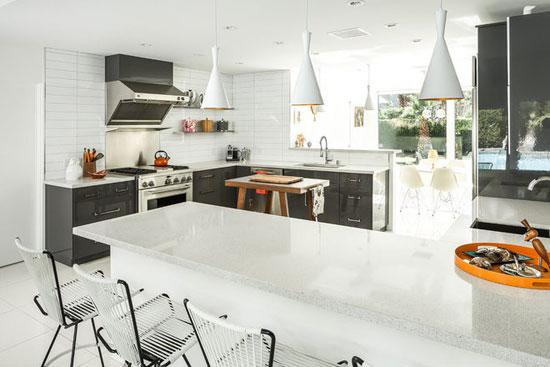 1960s Charles DuBois-designed midcentury modern property in Palm Springs, California, USA