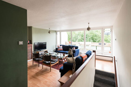 1970s Peter Tabori-designed duplex apartment in London N19
