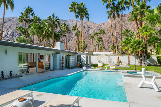 1960s Charles DuBois-designed midcentury modern property in Palm Springs, California, USA