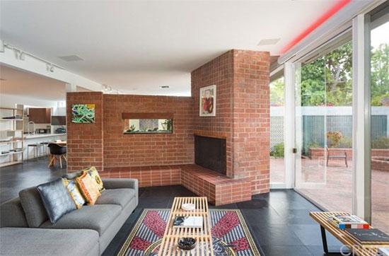 1950s modernism: Marsh, Smith, and Powell-designed Bendel Residence in Pasadena, California, USA