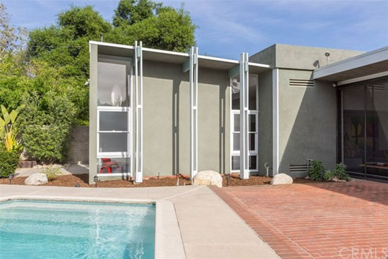 1950s modernism: Marsh, Smith, and Powell-designed Bendel Residence in Pasadena, California, USA