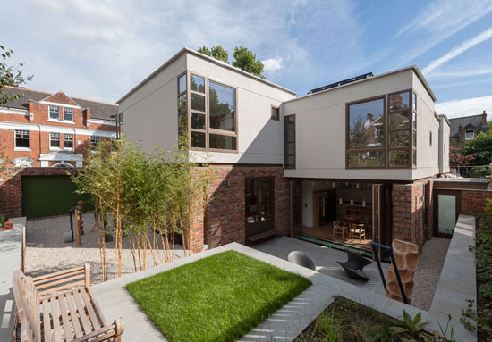 On the market: SE5 Architects-designed Paddock House in Grove Park, London SE5