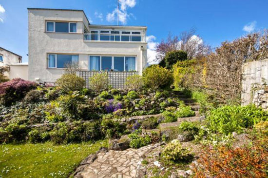 1930s William Lescaze-designed modernist property in Paignton, Devon