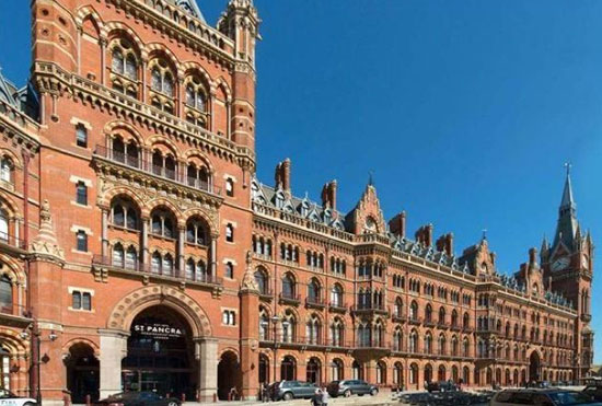 On the market: Two-bedroom apartment in grade I-listed St Pancras Chambers, London NW1