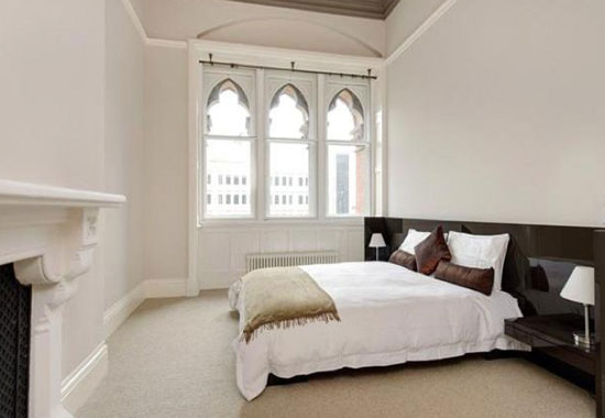 Two-bedroom apartment in grade I-listed St Pancras Chambers, London NW1