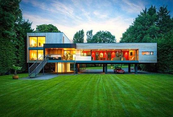 The Moorings John Pardey-designed modernist property in Wargrave, near Reading, Berkshire