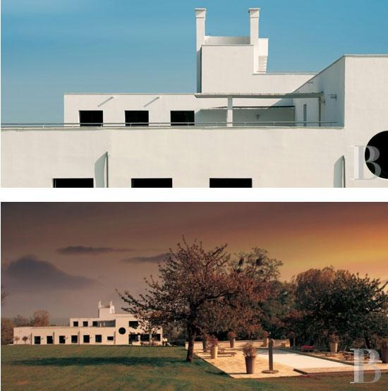 Listed 1920s Robert Mallet-Stevens-designed art deco Villa Poiret property in Île-de-France, near Paris, France