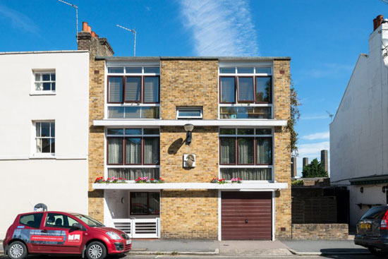 On the market: 1950s Ray Smith-designed modernist townhouse in London SE10