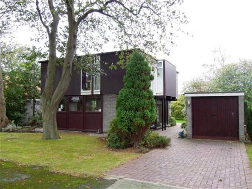 On the market: 1960s J Roy Parker-designed four-bedroom house in Parkgate, Cheshire