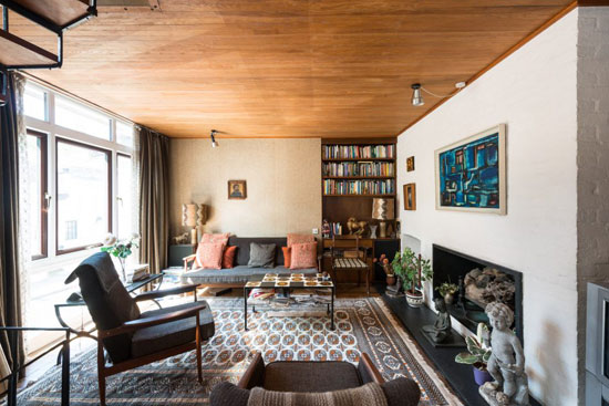 1950s Ray Smith-designed modernist townhouse in London SE10