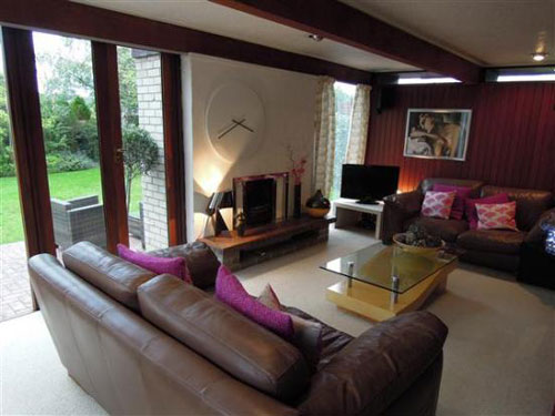 J Roy Parker-designed four-bedroom house in Parkgate, Cheshire
