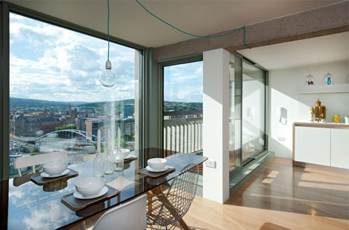 1960s grade II-listed Park Hill development in Sheffield