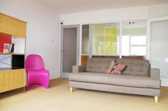 On the market: First floor apartment in the 1950s Eric Lyons-designed Parkleys development in Ham, Richmond, Surrey