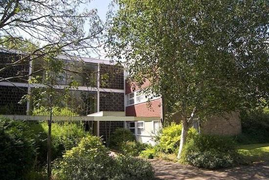 First floor apartment in the 1950s Eric Lyons-designed Parkleys development in Ham, Richmond, Surrey