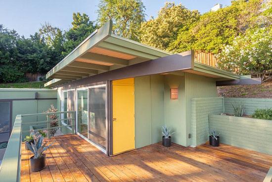 Calvin Straub midcentury modern house in Pasadena, California