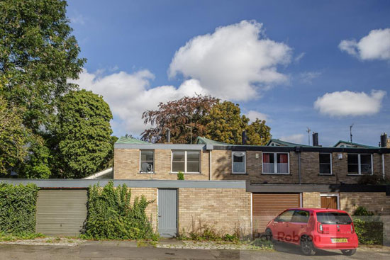 1960s Brian Robson modern house in Jesmond, Newcastle Upon Tyne