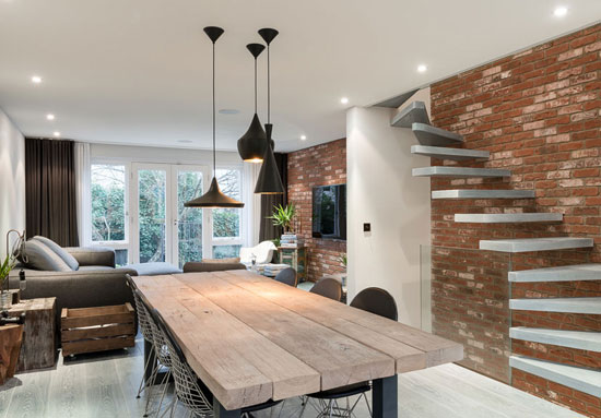 On the market: CZWG and Tony Michael-designed modern townhouse in St Pauls Mews, London NW1