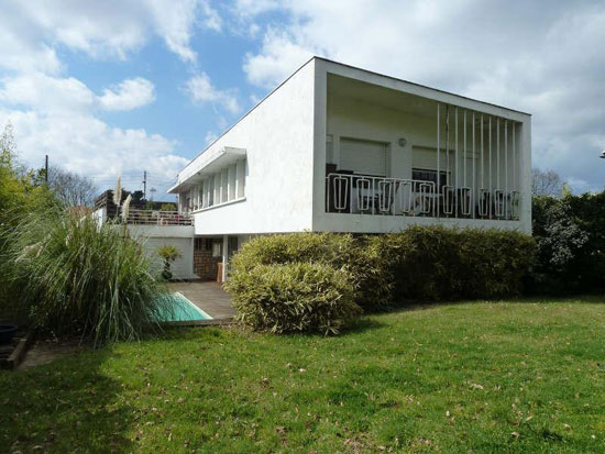 1960s modernist property in Pessac, near Bordeaux, southwestern France