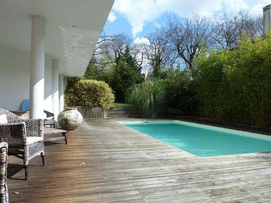 1960s modernist property in Pessac, near Bordeaux, southwestern France