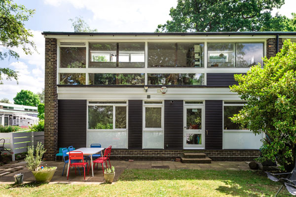 1960s Austin Vernon & Partners house on the Dulwich Estate, London SE26