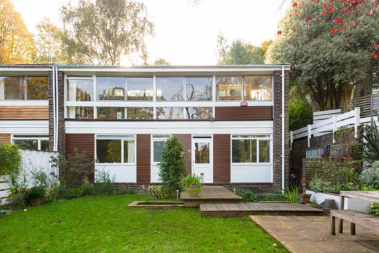 On the market: 1960s Austin Vernon & Partners-designed house on Peckarmans Wood, London SE26