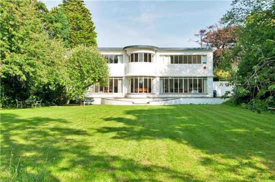 1930s Sea Roads six-bedroom art deco property in Penarth, Vale Of Glamorgan