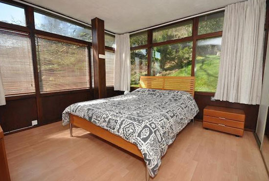 1960s midcentury-style timber house in Penrith, Cumbria