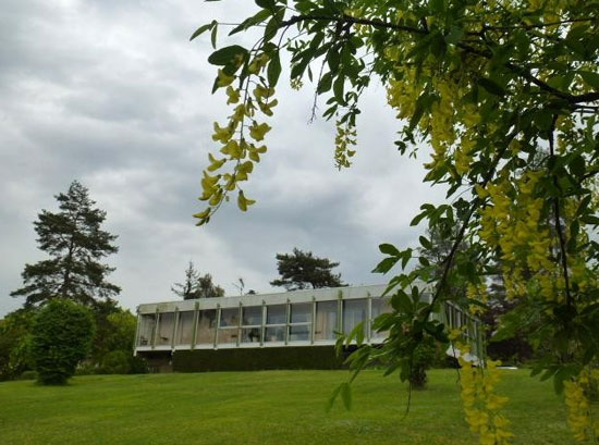 On the market: 1970s architect-designed modernist property in Perigueux, Dordogne, south-western France
