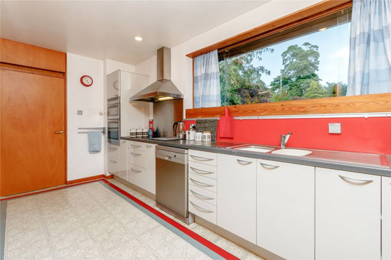 1960s Morris and Steadman modernist property in Perth, Scotland