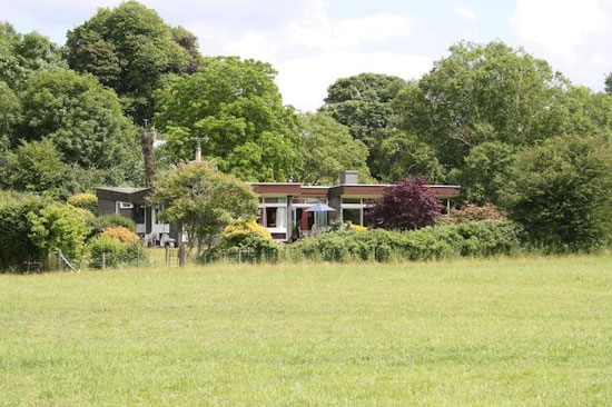 On the market: 1960s two-bedroom modernist property in Petersfield, Hampshire