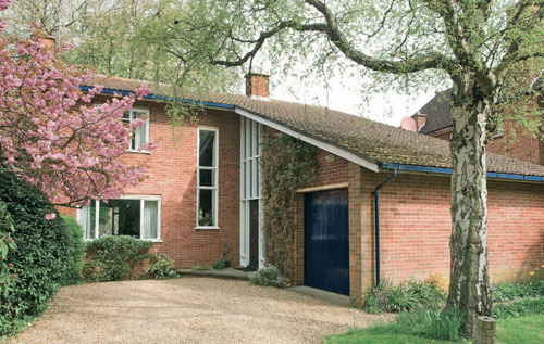 1950s architect-designed house in Peterborough, Cambridgeshire