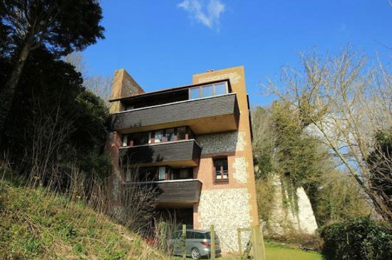 On the market: 1980s Headland House modernist five-bedroom house in Piddinghoe, Newhaven, East Sussex
