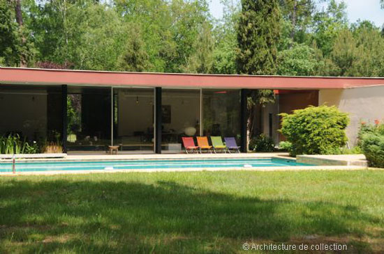 On the market: 1970s Pierre-Louis Martin-designed midcentury property in Bordeaux, southwestern France