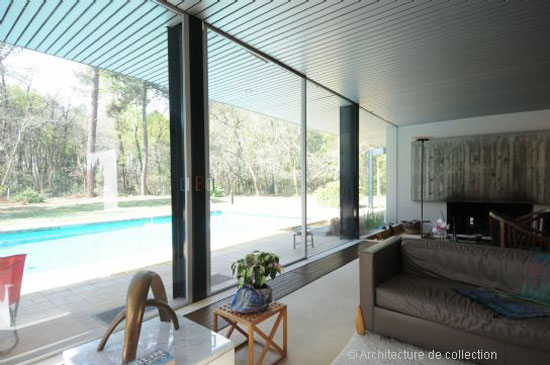 1970s Pierre-Louis Martin-designed midcentury property in Bordeaux, southwestern France