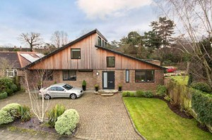 Four-bedroom contemporary modernist property in Pinner, Hertfordshire