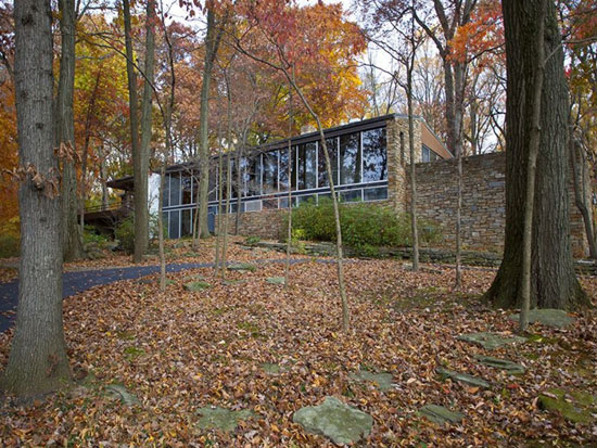 On the market: 1960s Richard Neutra-designed Pitcairn House in Huntingdon Valley, Pennsylvania, USA